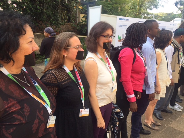 Human rights issues at UNEA3