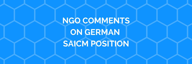 Deutsche NGOs kritisieren Position der Bundesregierung zu SAICM