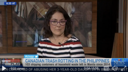 HEJSupport Co-Director, Olga Speranskaya, was interviewed by the Canadian TV Power Play to discuss the issue of Canadian waste rotting in the Philippines