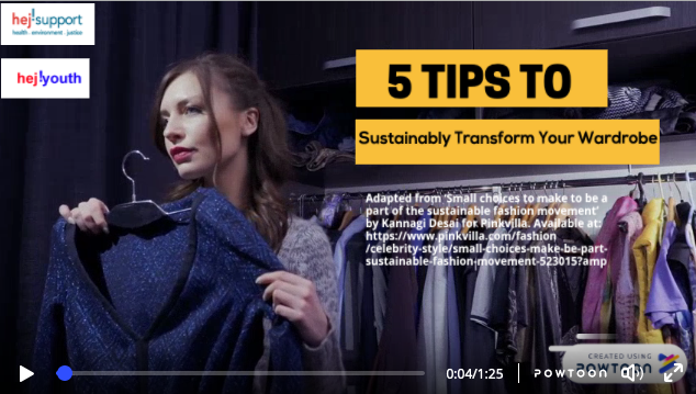 New film: 5 Tips to sustainably transform your wardrobe