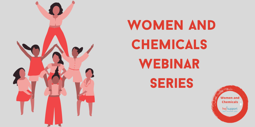 Join our new Women and Chemicals Webinar Series