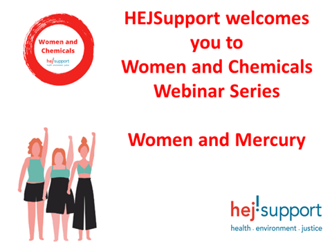 Women and Mercury: new approaches to minimize mercury exposure