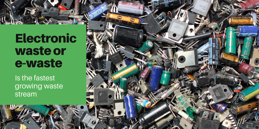 Why does the issue of e-waste continue to be a global challenge despite international efforts to address it?